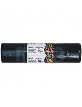 Atkritumu maisi LDPE melni 160L, MAAN