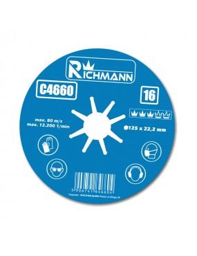Fibro disks 125mm, G:120, Corona