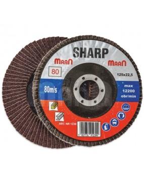 Smilšpapīra disks 125mm  80 Maan