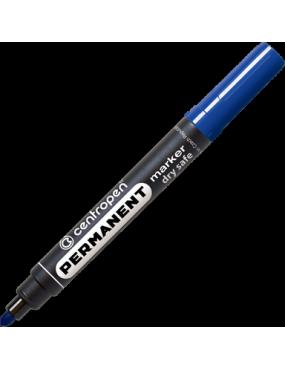 Centropen marķieris 2.5mm apaļš, zils