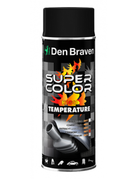 Krāsa Super Color karstumizt. 800C alumīnija 400ml