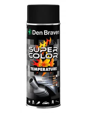 Krāsa Super Color karstumizturīga 800C melna 400ml