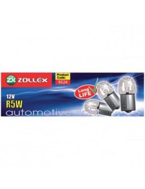 ZOLLEX Automašīnas spuldzes R5W 12V 10gab.