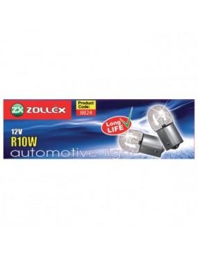 ZOLLEX Automašīnas spuldzes R10W 12V 10gab.