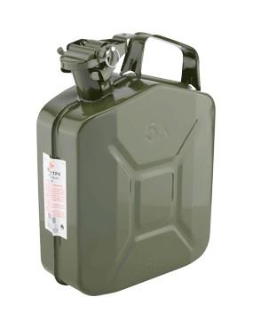 Tērauda degvielas kanna 5 L