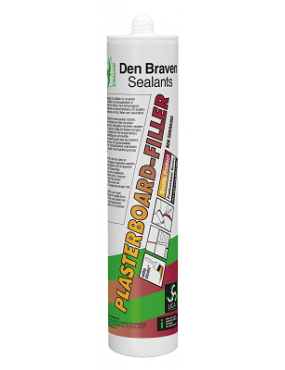 Hermētiķis akrila DB Plasterboard filler 300ml balts