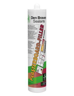 Hermētiķis akrila DB Plasterboard filler 300ml balts