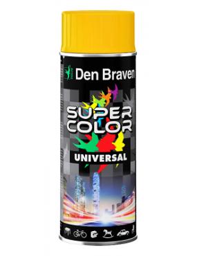 Krāsa Super Color universāla balta spīdīga 400ml