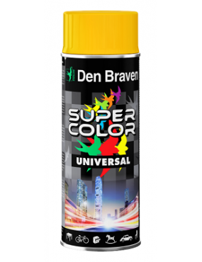 Krāsa Super Color universāla dzeltena 400ml