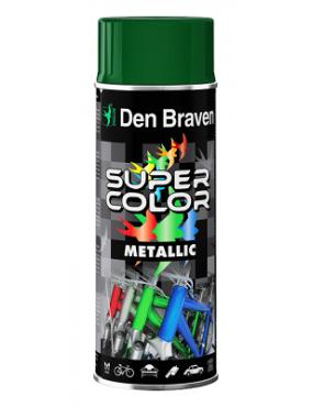 Krāsa metālika zaļa 400ml Den Braven