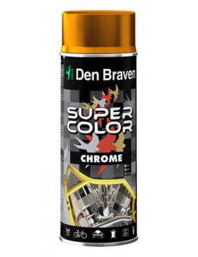 Krāsa zelta hromēta 400ml Den Braven