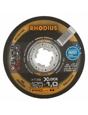Griezējripa 125x1.0 Rhodius X-LOCK