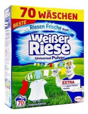 Weisser Riese Universal veļas mazgāšanas pulveris 70x