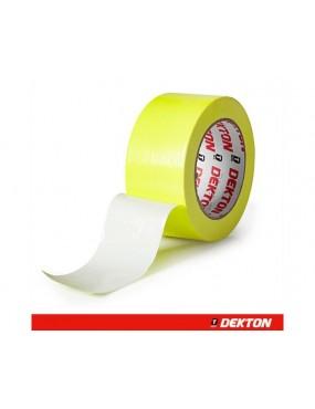 Mitrumizturīga līmlente 50mm*25m dzeltena, Dekton