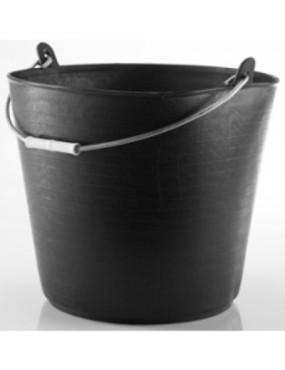 Elastīgs spainis melns 26 L