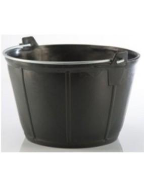 Elastīgs spainis melns 14 L