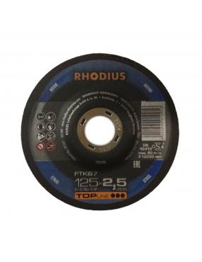 Griezējripa 125x2.5 Rhodius Alpha