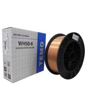Metināšanas stieple 0.8mm G3Si1 5kg spole TEMO