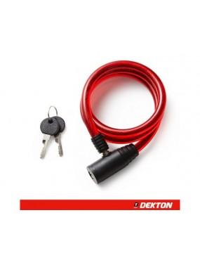 Velosipēda drošības slēdzene 12mmx1m, Dekton